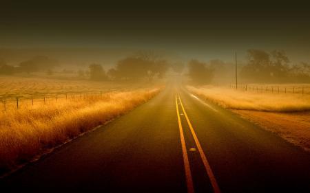 Заставки пейзажи, дорога, дороги, трава