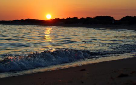 Фото волна, волны, вода, море