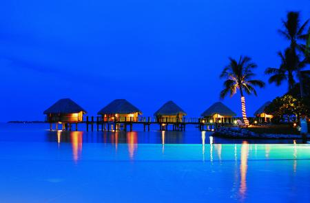 Фотографии French Polynesia, islands, Manihi Pearl Beach, бунгало
