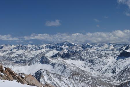 Фотографии горы, снег, камни, небо