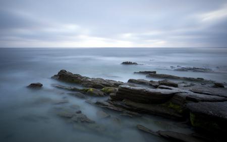 Фотографии море, скалы, небо, пейзаж
