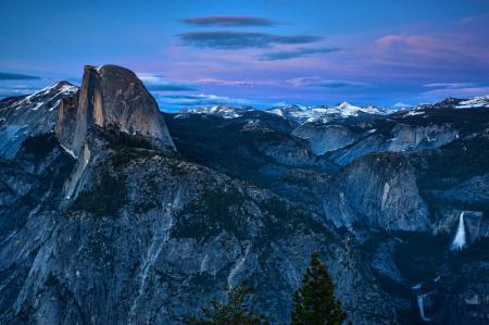 Заставки High Sierra, USA, Yosemite, горы