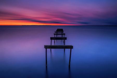 Фотографии пейзаж, природа, море, рассвет