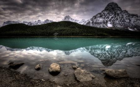 Картинки озеро, горы, небо, пейзаж