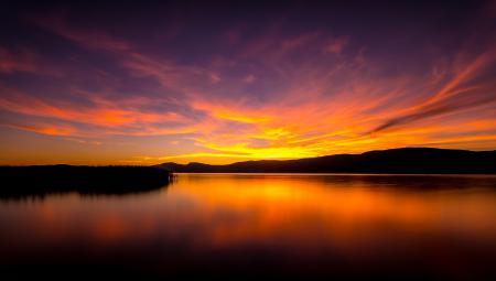 Фотографии природа, пейзаж, закат, горы