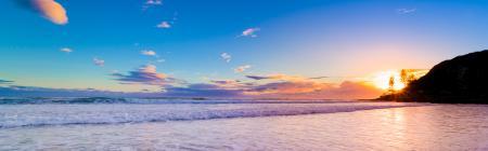 Фотографии небо, море, закат, природа