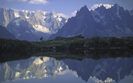 Картинки пейзажи, горы, скалы, вода