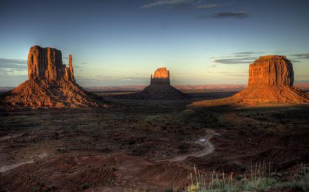 Обои пейзажи, скалы, пустыня, пустыни