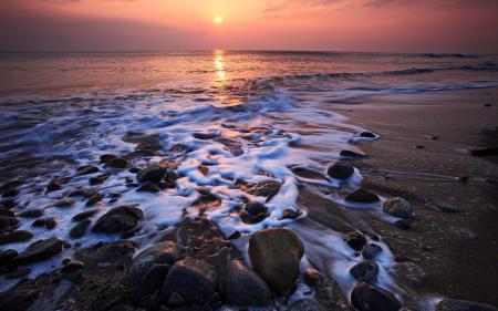 Фотографии пейзажи, берег, вода, камни