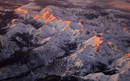 Картинки Aspen Peaks, горы, колорадо, пейзажи