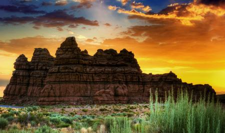 Фото Долина гоблинов, пустыня, скалы, каньон