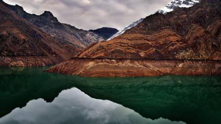 Картинки аляска, горы, озеро, вода