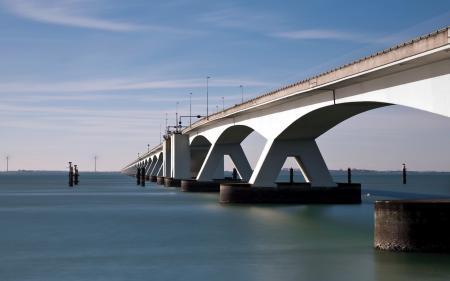 Фото мост, река, город
