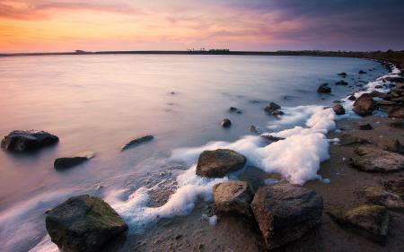Картинки океан, побережье, камни
