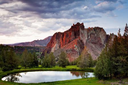 Заставки горы, озеро, природа, пейзаж