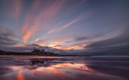 Фото закат, море, пейзаж