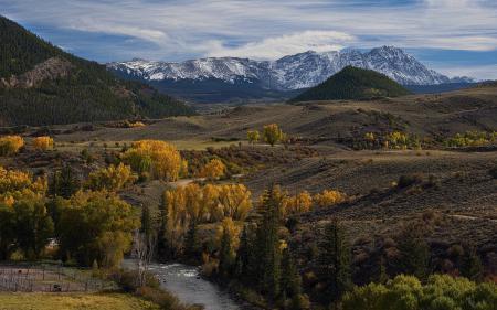 Фото долина, горы, пейзаж
