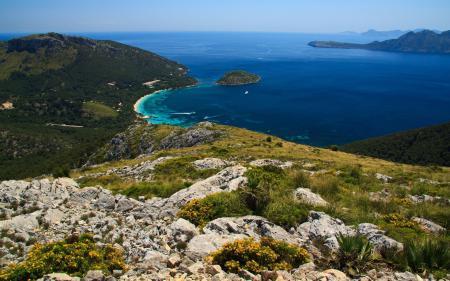 Фото бухта, лагуна, синева, море
