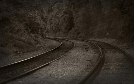Картинки пейзажи, железная дорога, железные дороги, поезда