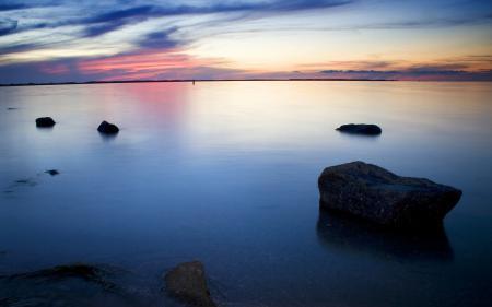 Фотографии море, залив, озеро, гладь
