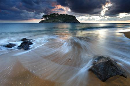 Обои океан, море, волны, вода