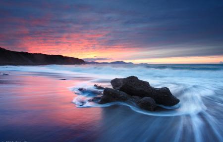 Обои море, океан, волны, пляж
