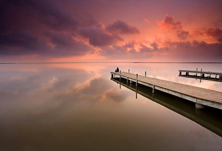 Картинки море, океан, закат, небо