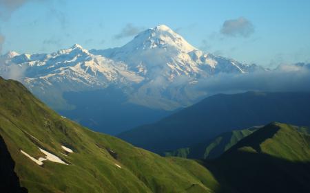 Обои Горы, Вершина, Пик, Ледники