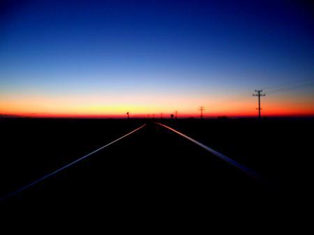 Фото вечер, закат, природа