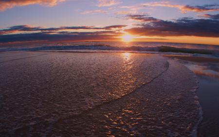 Обои море, волны, волна, пена