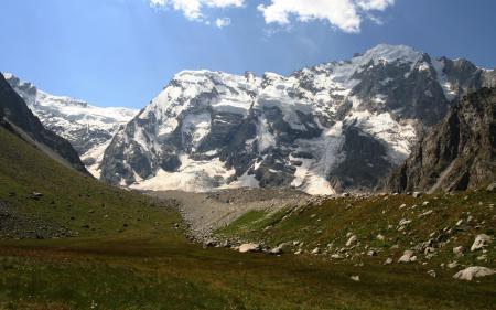 Картинки Природа, Горы, Пастбище, Луг