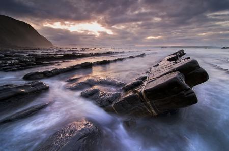 Фото океан, море, камни, небо