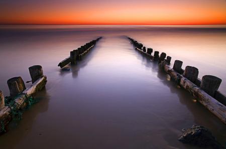 Фото море, океан, закат