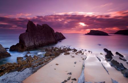 Фото небо, море, закат