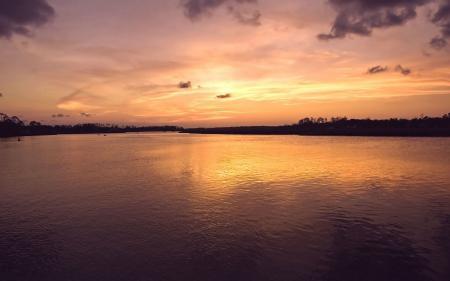 Фотографии Пейзаж, природа, закат, река