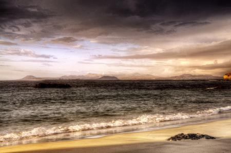 Заставки море, небо, берег