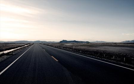 Фото дорога, трасса, поле