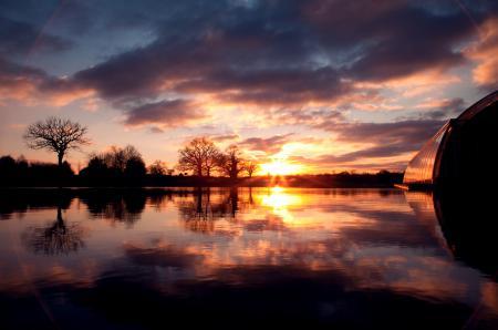 Заставки небо, солннце, вода, облака