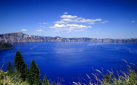 Фотографии озеро, вода, берег, холмы