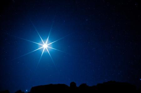 Фото луна, ночь, свет, звезды