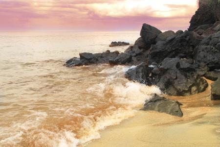 Фото море, берег, волны, пляж