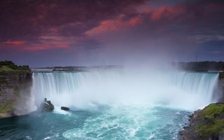 Обои Niagara, Falls, ниагара, водопад
