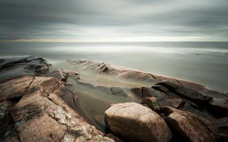 Фотографии море, камни, природа, пейзаж