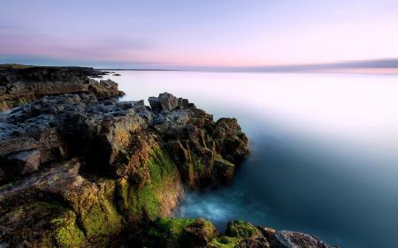 Фото море, небо, скалы, природа