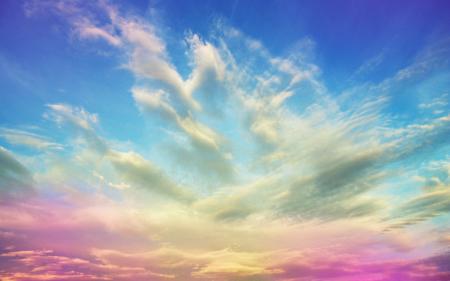 Фотографии Небо, рассвет, закат, облака