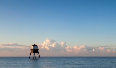 Заставки море, океан, горизонт, дом