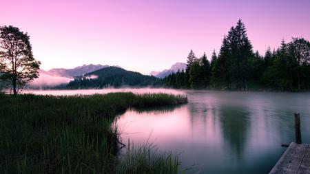 Картинки озеро, горы, природа, пейзаж