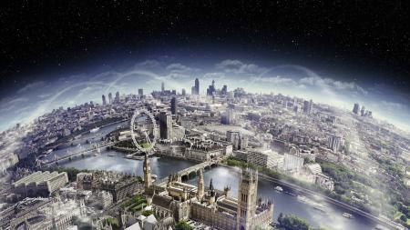 Обои Лондон, горизонт, London, horizont