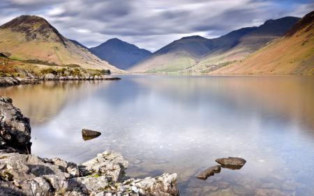 Фотографии горы, озеро, пейзаж