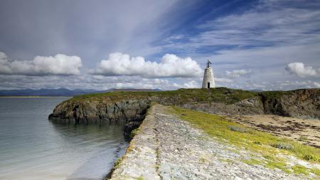 Фотографии море, маяк, берег, пейзаж